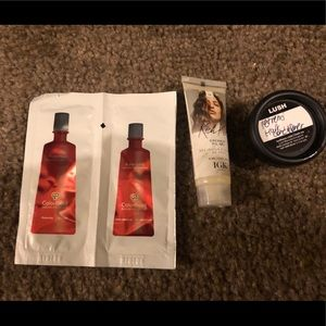 NEW Set of 3 Hair Care Samples - Lush & more